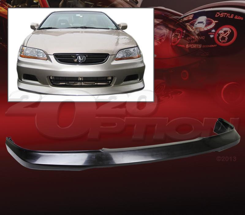 2020 Honda Fit: OE STYLE POLYURETHANE FRONT BUMPER LIP SPOILER FOR 01-02
