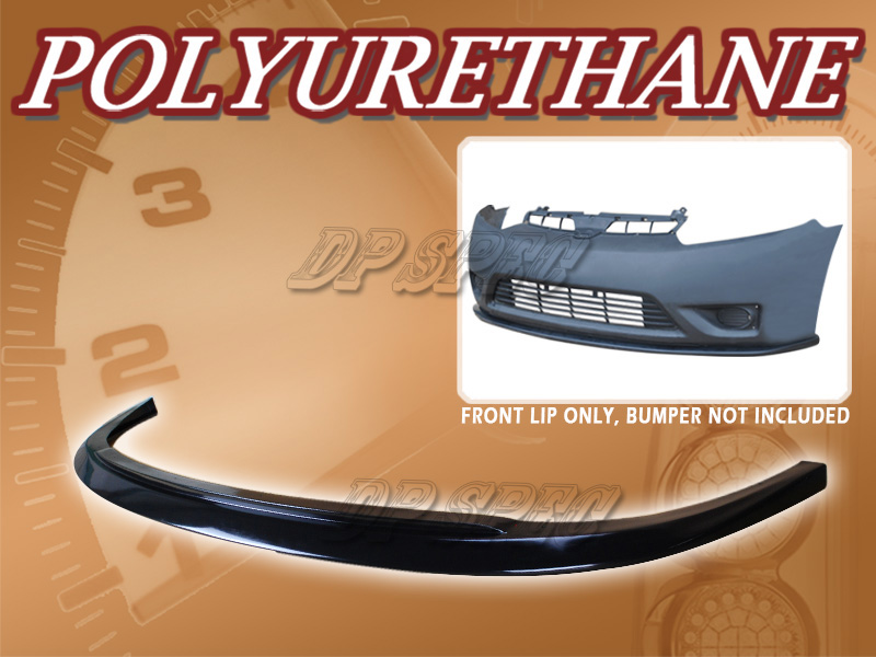 For 06 08 honda civic 2 door coupe v style front bumper for 08 honda civic 2 door